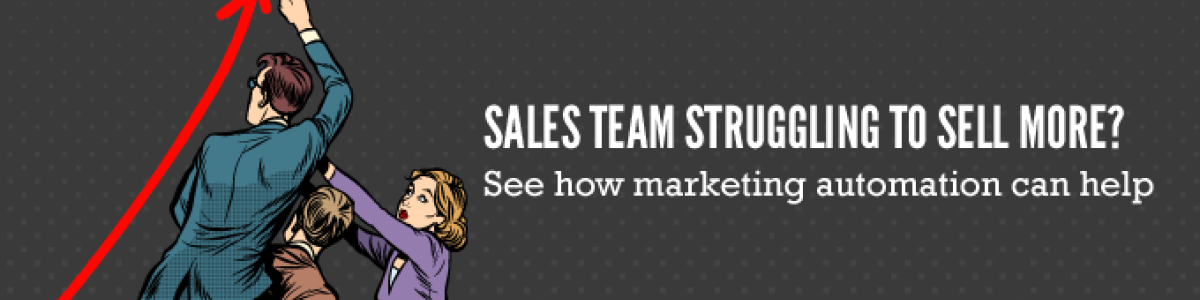 Headline for Best ways to help your sales team sell better - with a marketing automation software