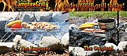 Get Adjustable Campfire Cooking & BBQ Grill Grate Online