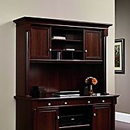 Sauder Palladia Hutch (does not include desk) in Select Cherry