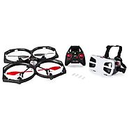 Air Hogs - Helix Sentinel First Person View (FPV) HD 720p Video Drone with 4GB Micro SD Card - WiFi Capable