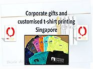 Corporate Gifts And Customised T-Shirt Printing Singapore