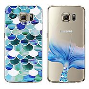 Samsung New Mermaid Style Transparent Soft Tpu Case