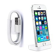 iPhone Desk Charger and Sync Stand 8pin USB Charging Cable