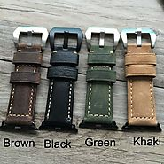 iWatch 38mm 42mm Special Design Leather Watch Strap