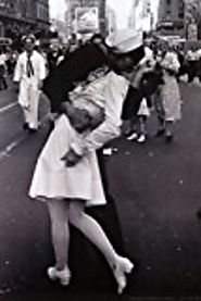 THE KISS WW2 8x10 reprint signed photo V-J Day Times Square RP Sailor & Nurse