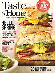 Taste Of Home Magazine – April/May 2019