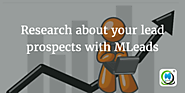 Research about your lead prospects with MLeads | MLeads Blog