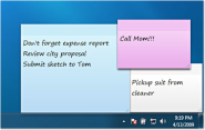Sticky Notes - Microsoft Windows