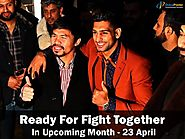 Manny Pacquiao and Amir Khan ready for fight in UAE