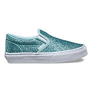 Kids Shimmer Slip-On | Vans Canada
