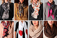 How To Team Up A Scarf With Your Outfit