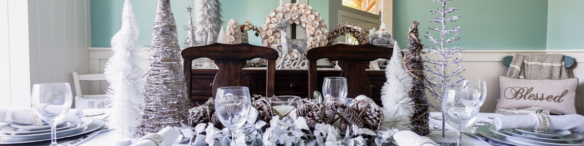 Headline for Decor Guide: Turning A Dining Room Into A Winter Wonderland