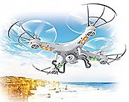 Insane Torpedo Top Race TR-Q511 4-Channel Quad Copter Drone with Camera, 1 Key Return & Headless Mode Option