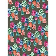 Bright Pinecones Wrapping Paper