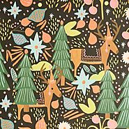 Rifle Paper Co. Feliz Navidad Wrapping Paper