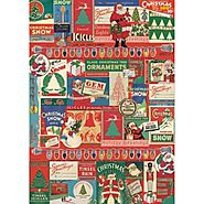 Cavallini Vintage Christmas Wrapping Paper