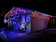 Starry Laser Lights Projection Christmas Lights Moving Laser FDA Approved Star Projector Landscape Lights with RF Wir...