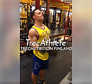 Trec Nutrition Finland - Biceps workout
