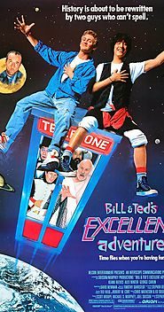 10 Best Movies With Time Travelers | Bill & Ted's Excellent Adventure (1989)