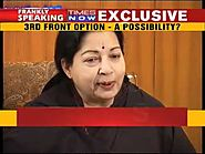 Frankly Speaking With Jayalalithaa