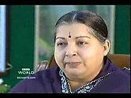BBC interview with Dr J Jayalalithaa