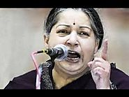 Jayalalitha angry speech in Assembly