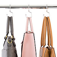 Chrome Metal Tote Hangers