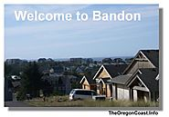 Bandon,Oregon on the Oregon Coast