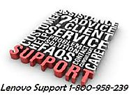 Lenovo Support Number 1-800-958-239