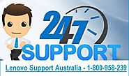 Lenovo Laptop Support Australia 1-800-958-239
