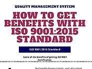 how to get iso 9001 standard benefits for all sector