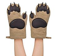 Fred & Friends Bear Hands Oven Mitts, Set of 2
