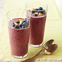 Blueberry-Pineapple Smoothie