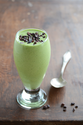"An Edible Mosaic "" Healthy Shamrock Shake {Mint-Flavored Smoothie}"