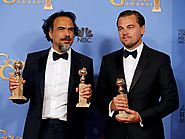 Leonardo DiCaprio wins Golden Globe for film drama actor