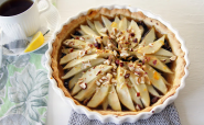 Nutella Pear Tart | The Lovely Cupboard: Nutella Pear Tart