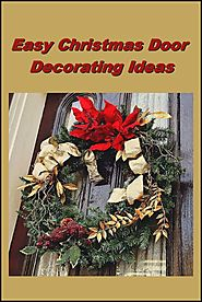 Easy Christmas Door Decorating Ideas