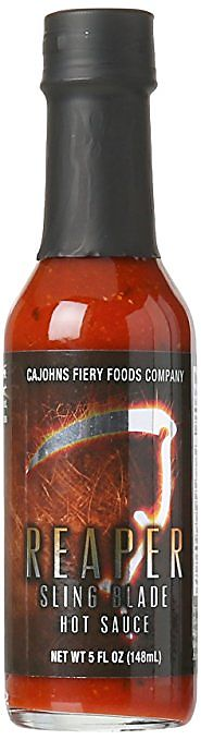 2. Reaper Sling Blade Hot Sauce - Made with the Carolina Reaper!