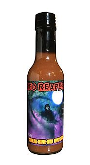 3. Carolina Reaper Hot Sauce Wicked Reaper World's Hottest Chili Pepper