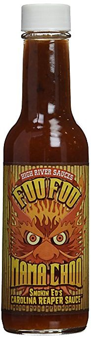 Foo Foo Mama Choo Hot Sauce with Smoking Ed's Carolina Reaper Pepper 5.4 oz
