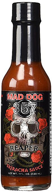 Mad Dog 357 Reaper Sriracha Sauce 5oz