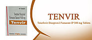 Tenvir 300mg Tablets at reasonable Price | Tenofovir Disoproxil Fumarate Tablets Cipla