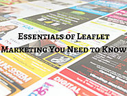 Essentials of Leaflet Marketing You Need to Know