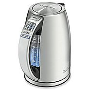 Cuisinart CPK-17 PerfecTemp 1.7-Liter Stainless Steel Cordless Electric Kettle