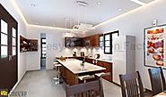 3D Kitchen Interior Design