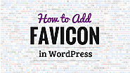 How To Add Favicon In WordPress? - Free Tech Tutors