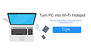 How To Turn Your Windows 10 PC Into a Wi-Fi Hotspot? - Free Tech Tutors