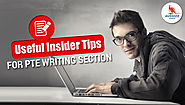 Useful Insider Tips For PTE Writing Section