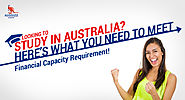 Looking to Study in Australia? Here's What You Need to Meet Financial Capacity Requirement!