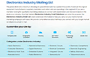 Electronics Industry Mailing List